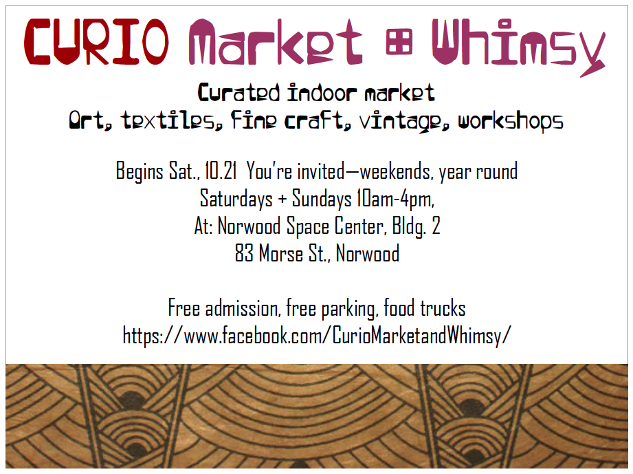 Curio Market and Whimsy, Norwood, MA