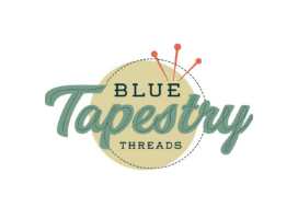 Blue Tapestry Threads