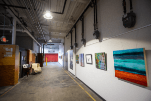 Norwood Space Center Bldg 6 Hallway