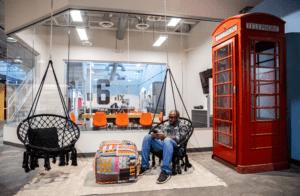 Norwood Space Center Bldg 6 Swings